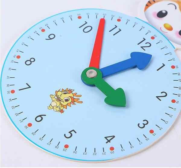 Монтессори родителей деревянные игрушки цифры Цифровые часы Обучение Образование Смешные гаджеты интересные игрушки для детей подарок для детей развивающие игрушки для детей девочек детские развивающие игрушки