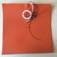 3D printer heating bed Silicone Rubber Reprap Prusa heated bed 400*400 MK2A