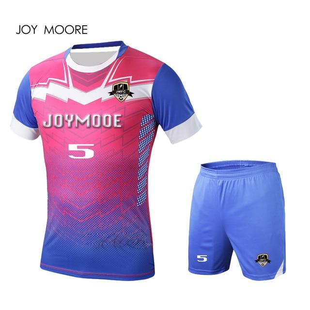 Custom blank soccer uniforms kit professional design football team shirt  quick dry breathable mens football jerseys 2cfc98d52