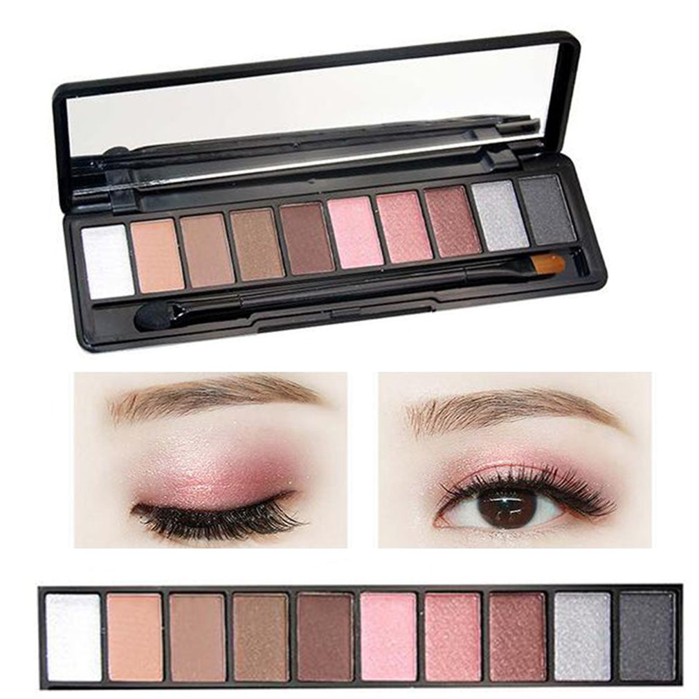 Beauty Essentials Eye Shadow Professional 10 Colors Makeup Eye Shadow Eyeshadow Palette Shimmer Matte Eye Shadow Cosmetics Beauty New
