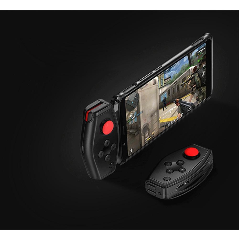 Contrôleur de jeu Mobile sans fil de Bluetooth Gamepad PUBG pour la magie rouge de nubie 3 contrôleurs de jeu de téléphones intelligents manipulent la manette
