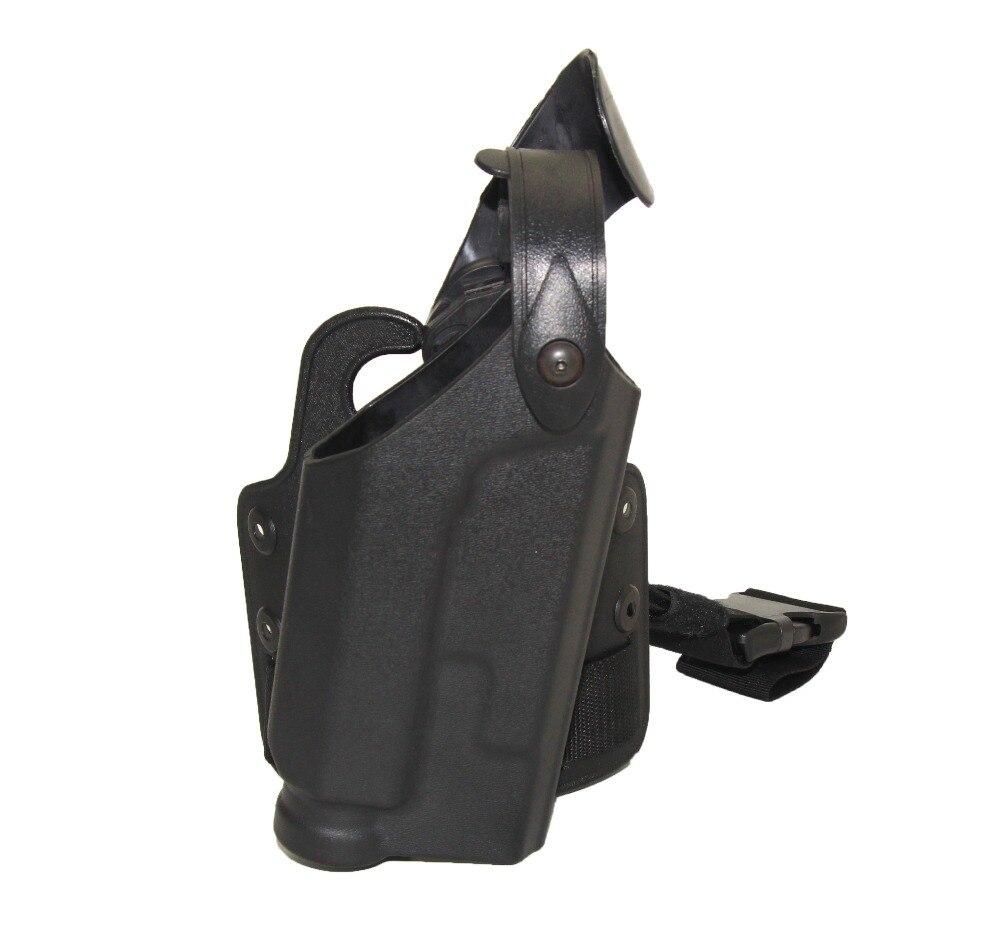 Táctica Colt 1911 Quijote Ipsc Holster Caza Polaina Pierna Pistola Pistolera de