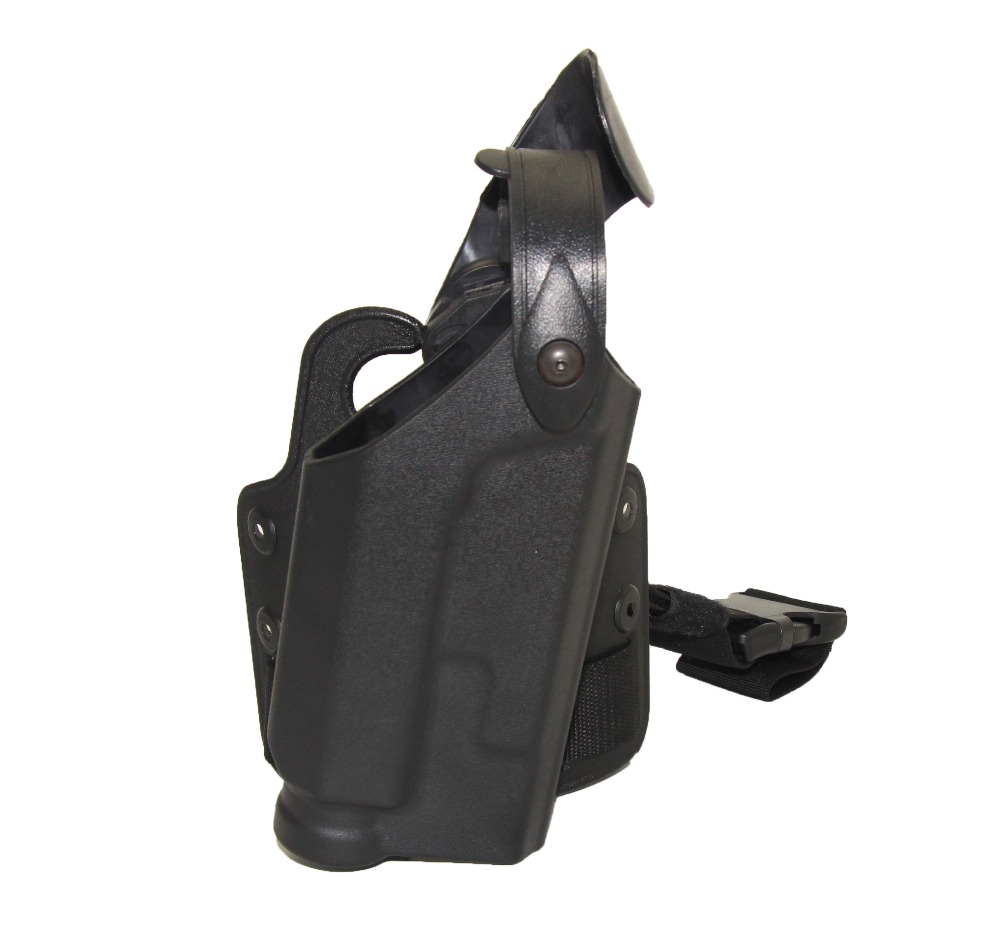 ФОТО Tactical Colt 1911 Holster Cuisse Ipsc Hunting Leg Puttee Gun Pistol Holster For Military Army Combat Equipment Black