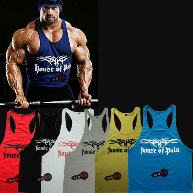3f3951c4afa8f placeholder Men variant models of gym shark gymshark bodybuilding ferret  models cotton printed vest undershirt male muscle