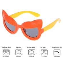 ff1f365b57a Kids Sunglasses Cartoon Silicone Cute Fashion Polarized Children Boy Girl  Sun Glasses Decorative Candy Color UV400