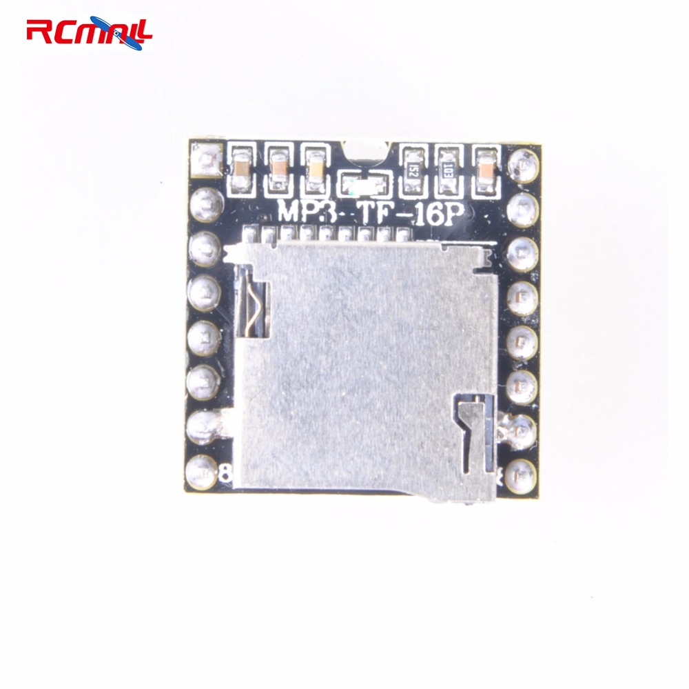 RCmall Mini MP3 Player Master Module With Simplified Output Speaker For Arduino For UNO FZ1281