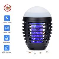 Waterproof Electric Anti Mosquito Killer Lamp Lantern 2 IN 1 Quiet Night Light Mosquito Trap Anti Moustique Antimosquitos USB