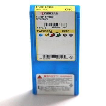 TPGH110302L KW10 10pcs/lot Kyocera 100% Original High Quality Lathe Inserts Tungsten Caibide Turning Knife TPGH080202L PR930