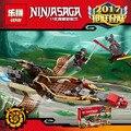 LEPIN Ninjagoed Serie Destinys Shadow Ninja Building Blocks Ladrillos Modelo Juguetes Para Niños Marvel Compatible Legoe