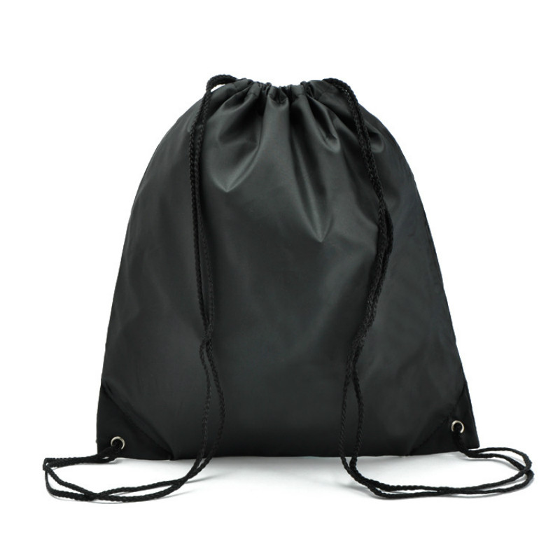 34*39cm Outdoor 1 PC Travel Storage Bag 260D Nylon Drawstring Waterproof Backpack Oxford Cloth Bag Wholesale