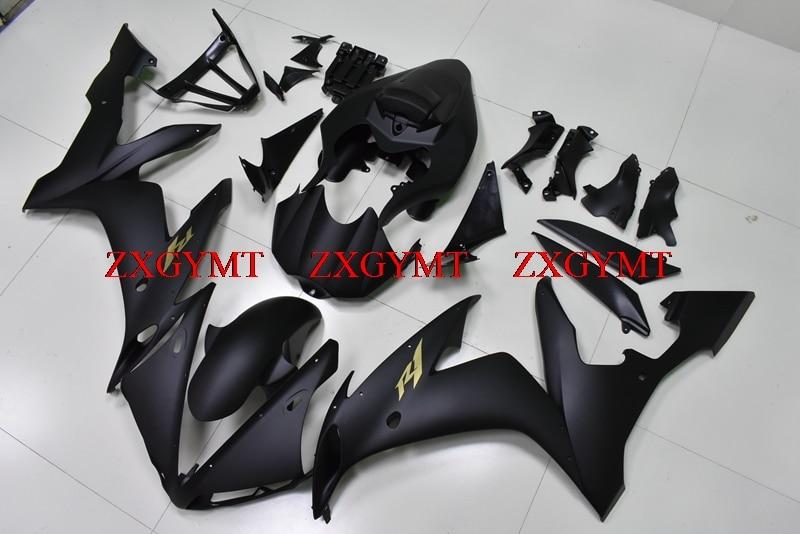 Plastic Fairings for YZFR1 2004 - 2006 Bodywork for YAMAHA YZFR1 2006 Matter Black Body Kits for YAMAHA YZFR1 05 06Plastic Fairings for YZFR1 2004 - 2006 Bodywork for YAMAHA YZFR1 2006 Matter Black Body Kits for YAMAHA YZFR1 05 06