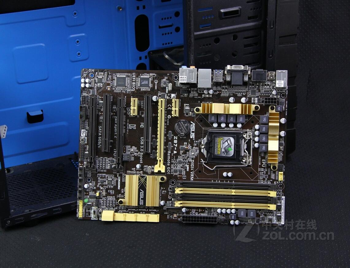 Z87-A desktop LGA 1150 ATX Gaming Motherboard USB 3.0 Only the motherboard only a promise