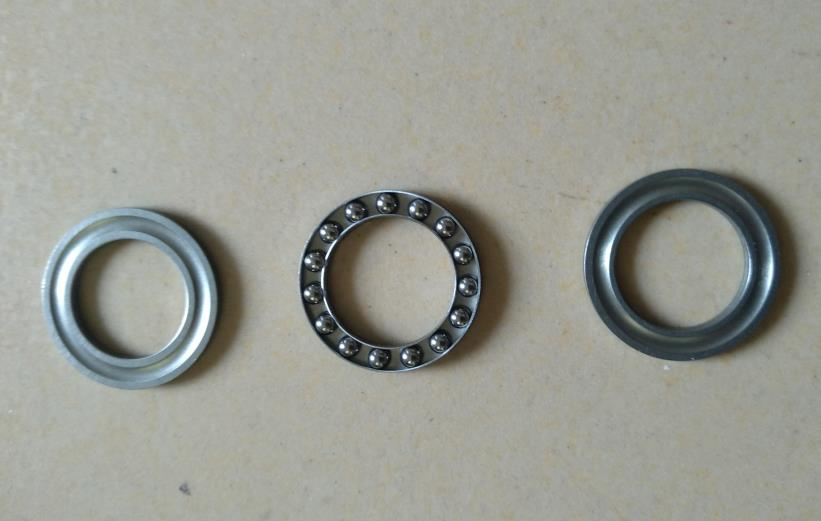 8 FANG Thrust <font><b>Ball</b></font> Bearing 8 FANG <font><b>BBS</b></font> <font><b>Ball</b></font> Bearing For Motor BBS01B BBS02B Kit Replacement 3 Piece Thrust Bearing image