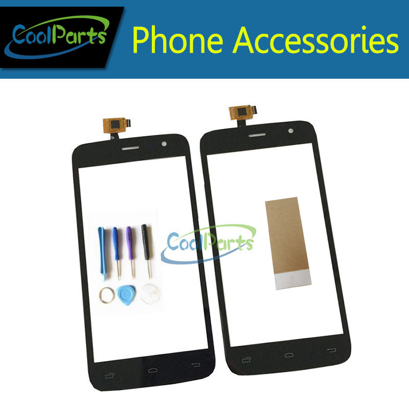 1PC/Lot High Quality 5.0 inch For Dexp Ixion E150 Soul Touch Screen Digitizer Touch Panel Lens Glass Black Color With Tools