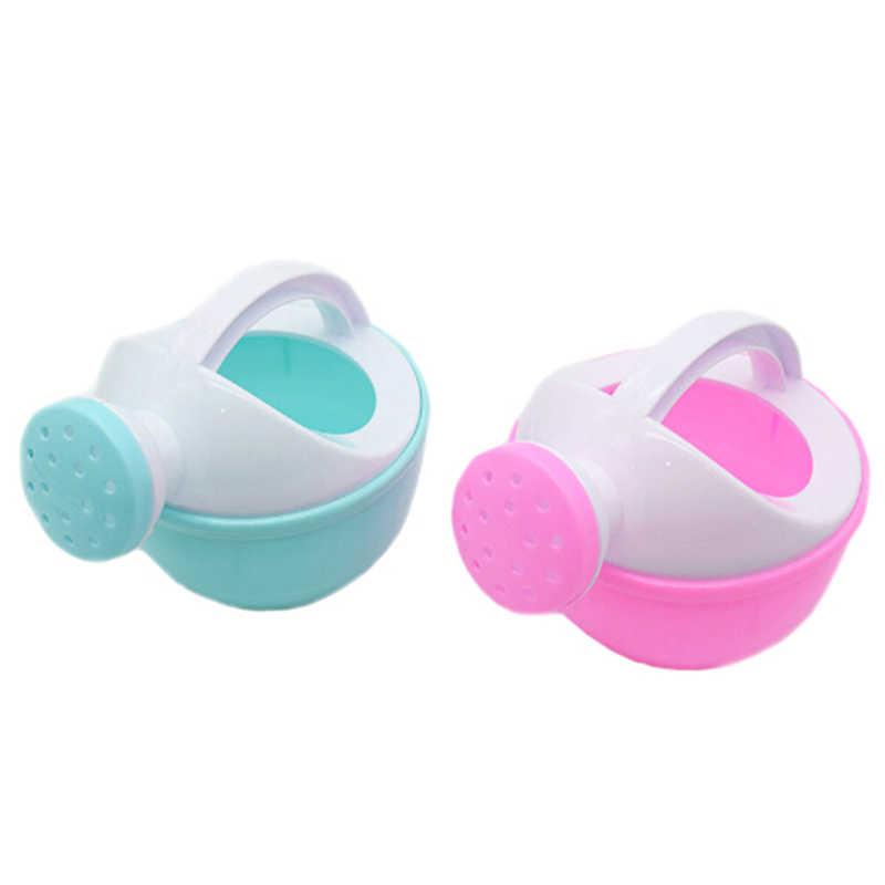 1 шт. игровой песок игрушка подарок для детей случайный цвет детская игрушка для ванны пластмассовая Лейка полив горшок пляжная игрушка