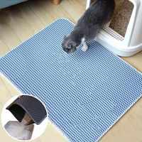 10 farben Faltbare EVA Nicht-slip Matten Wurf Matte Pet Teppich Katze Sand Katze Wc Matte Katzen Wasserdichte Matten für Haustiere Katzen Trapper