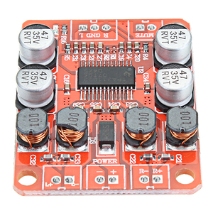 Image 3 - LEORY 5pcs TPA3110 DC 12V Dual Channel Stereo Digital Amplifier Board For 4/6/8/10 Ohm Speaker 24V 2x15W