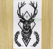 Popularne Tatto Stickers Deer Kupuj Tanie Tatto Stickers