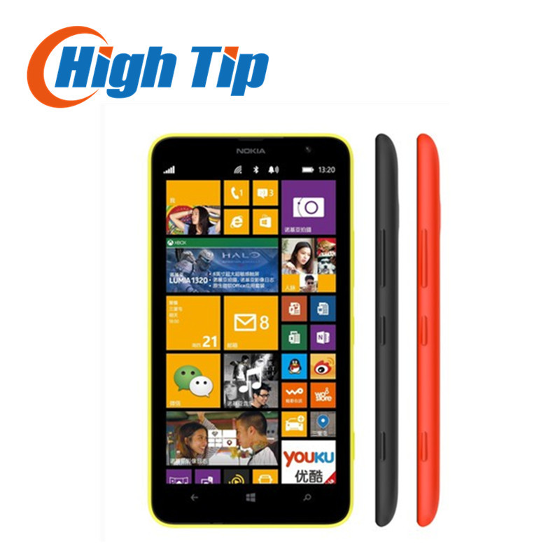 Original Lumia 1320 5MP GPS 1GB RAM 8GB ROM WIFI Bluetooth U