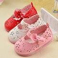 Meninas Do Bebê da criança Das Sandálias Sapatos Da Moda Verão Crianças Sandália Flat Com Arco Cut-Out Princesa Bonito do Flash Sapatos Ocos 1-2 Anos