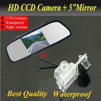 Preço de fábrica Car câmara de visão traseira para Kia K2 Rio Hatchback Kia Ceed 2013 Car backup estacionamento camera + monitor do carro espelho