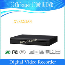 DAHUA 32 Channel Penta-brid 720P 1U Digital Video Recorder Without Logo XVR4232AN