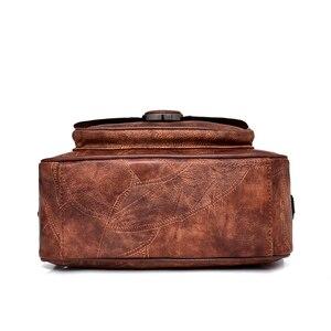 Image 5 - Nouvelle mode en cuir femmes sac à main bureau dames épaule sacs à bandoulière à la main en peau de mouton en cuir messager sacoche sacs Rivet