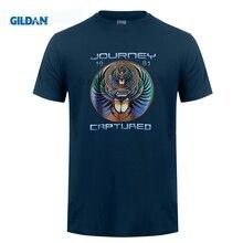 28ee605fdca4 funny men t shirt Summer Style Fashion Men's Journey 1981 Captured T-Shirt  Men Funny