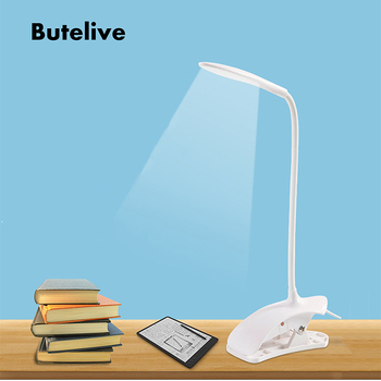 USB Led Table Lamp Reading Book Light LED Desk Lamp Clip Study Lamp for Children Bureaulamp Lampara De Mesa Luminaria De Mesa фото