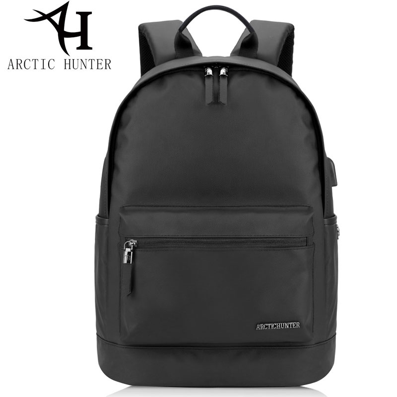 ARCTIC HUNTER Waterproof School Backpack Bag For College Men Casual Male famous brand Backpack Oxford USB Laptop computer Bags  fengdong men backpack oxford youth fashion brand usb charge designer back pack college bags school bag waterproof backpacks male