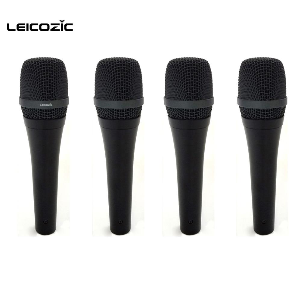 leicozic 4pcs professional dynamic mic cardioid microphone wire mic 945 karaoke mic microfono. Black Bedroom Furniture Sets. Home Design Ideas