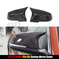 M3 M4 LOOK for BMW 1 2 3 4 X Series F20 F21 F22 F23 F30 F31 F32 F33 F36 X1 E84 Mirror Cover Carbon Fiber & Gloss Fiber Style