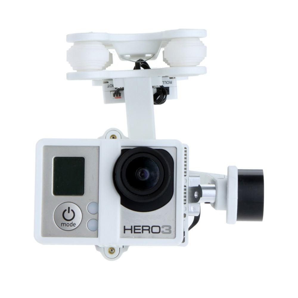 Фото Original Walkera FPV Quadcopter G-2D Brushless Gimbal White for iLook/GoPro Hero 3 Camera on Walkera QR X350 Pro F10151