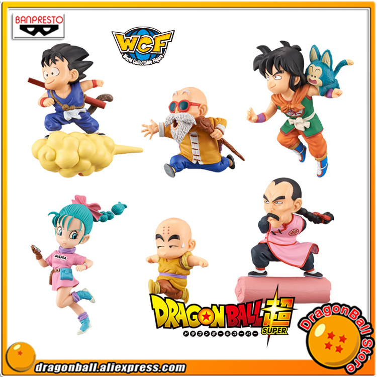 Dragon Ball Original BANPRESTO World Collectable Figure / WCF The Historical Characters Toy Figure - Full Set of 6 Pieces chris wormell george and the dragon