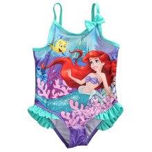Купальные костюмы для маленьких девочек возрастом от 1 года до 4 лет, костюм русалки из мультфильма одежда для купания, детский цельный купальный пляжный купальный костюм Одежда для купания для девочек, B4