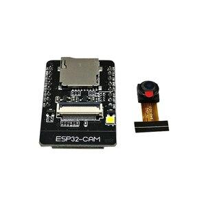 Image 1 - 10 sztuk ESP32 CAM ESP 32S moduł szeregowy Wi Fi dla WiFi ESP32 ESP32 pokładzie rozwoju 5V Bluetooth z OV2640 moduł kamery CAM