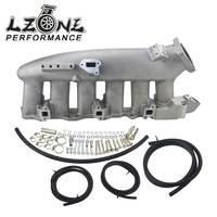 LZONE Cast Aluminum INTAKE MANIFOLD FOR Nissan 240SX RB25det RB25 Skyline R32 R33 R34 1989 1998 JR IM32 SL