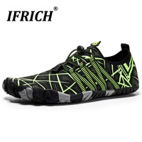 Hot Sale Water Shoes for Women Summer Men Swimming Sbort Gym Shoes New Mens Sneakers Flat Quick Drying Mesh Light Fishing Shoes