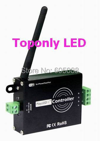 DC5-24v wireless wifi led rgb controller for most normal rgb led products,designed for ipone/ipad/ipod and android devices! dmx512 digital display 24ch dmx address controller dc5v 24v each ch max 3a 8 groups rgb controller