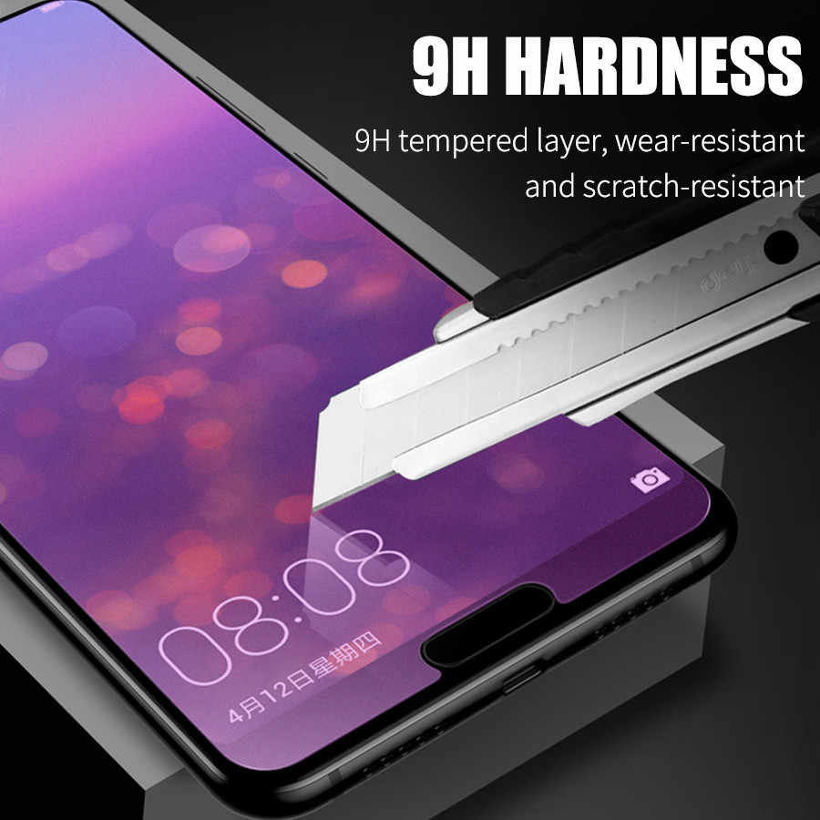 Matte Frosted Tempered Glass For Huawei Honor 8X Max Glass 7X  9H Screen Protector For Huawei Honor 10 V10 9 Lite Play Glass