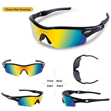 RIVBOS Polarized Sports Sunglasses Men Women for Cycling Running Fishing Driving Eyewear Glasses Oculous Gafas Ciclismo 2017