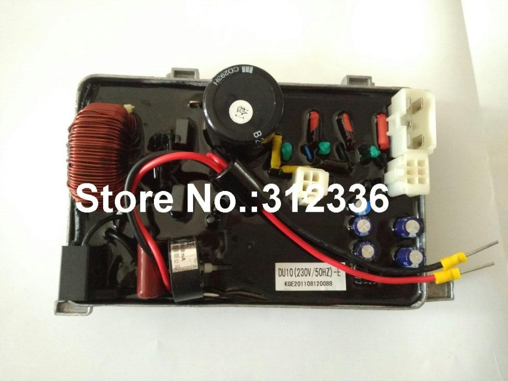 Free shipping IG1000 AVR DU10 230V/50Hz Inverter generator spare parts suit for kipor Kama Automatic Voltage Regulator 50 60hz automatic voltage regulator for kutai brushless generator avr ea16 free shipping