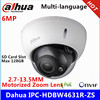 Dahua IPC-HDBW4631R-ZS IP Camera 2.7mm ~ 13.5mm varifocale gemotoriseerde lens 6MP IR50M met sd Card slot POE netwerk camera