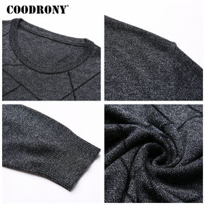 Image 5 - COODRONY Wool Sweater Men Casual O Neck Pull Homme Knitted Cotton Pullover Men 2018 Autumn Winter New Clothes Mens Sweaters B009