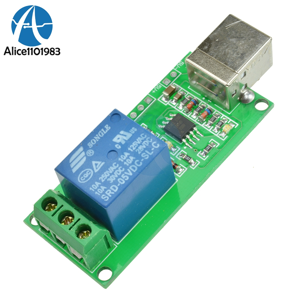 Usb Programmable Circuit Board Complete Wiring Diagrams Timer 1 Ch Channel Relay 5v Computer Control Rh Aliexpress Com Infrared Plc On Delay Diagram