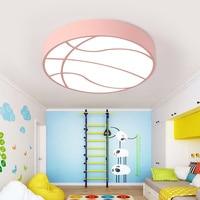 Led basketball children room bedroom ceiling lights cartoon kindergarten playground baby room wear shop creative lamp LU8111404