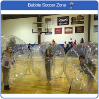 Free Shipping Thicken Material Inflatable Bubble Soccer Ball Air Bubble Football Zorb Ball Bumper Loopy For Adult Bumper Ball