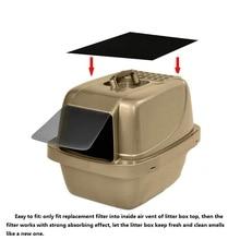 Бытовая коробка для кошачьих туалетов фильтр для котенка дезодорант с активированным углем коробка для туалета угольный фильтр для дома и сада 4 шт