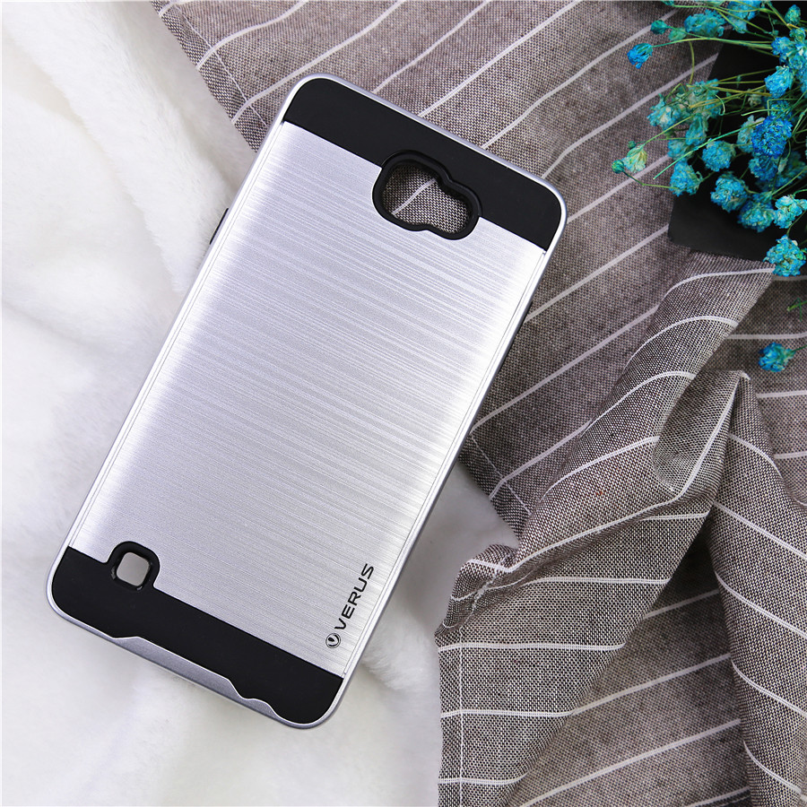 Us 4 99 For Lg X Max K240 Case 5 5 Inch Capa Luxury Hybrid Armor Brushed Back Cover For Lg X Max K240h K240f Phone Cases Coque Funda In Fitted Cases