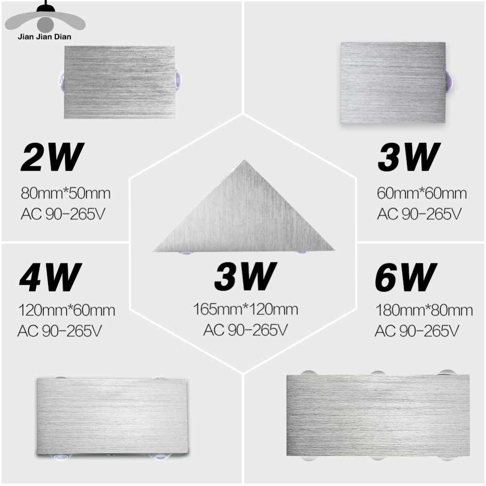 Lampu Dinding LED Modern Sconce Tangga Perlengkapan Pencahayaan Ruang Tamu Kamar Tidur Tempat Tidur Samping Tempat Tidur Indoor Lampu Rumah Lorong Loft Tidak Teratur